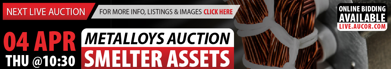 Metalloys Auction - Mining Equipment