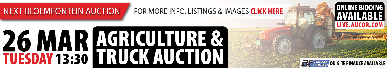 Agriculture & Truck Auction - Bloem
