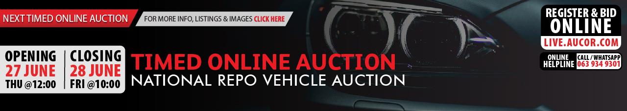 National Timed Online Auction - Bloem Online