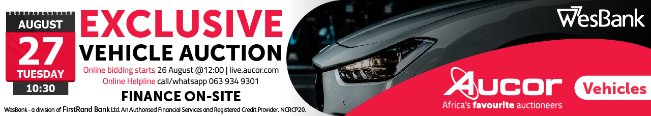Exclusive Wesbank Vehicle Auction - Bloem