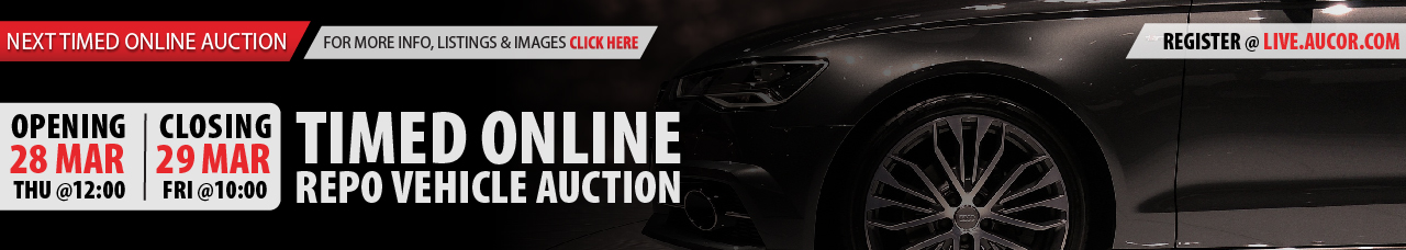 Timed Online Repo Vehicle Auction