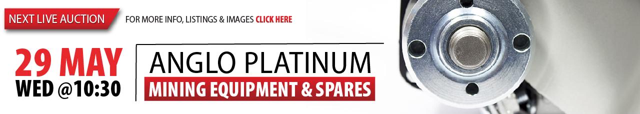 Anglo Platinum Mining Equipment & Spares