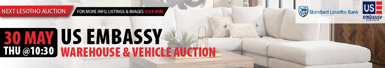 US Embassy Warehouse & Vehicle Auction - Lesotho