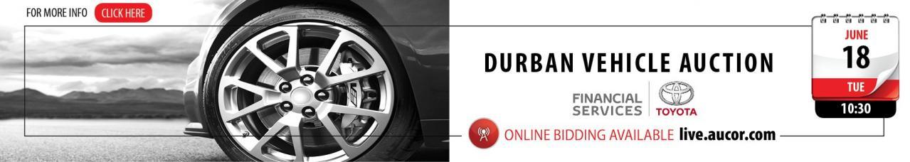Durban Vehicle Auction - DBN 18 June