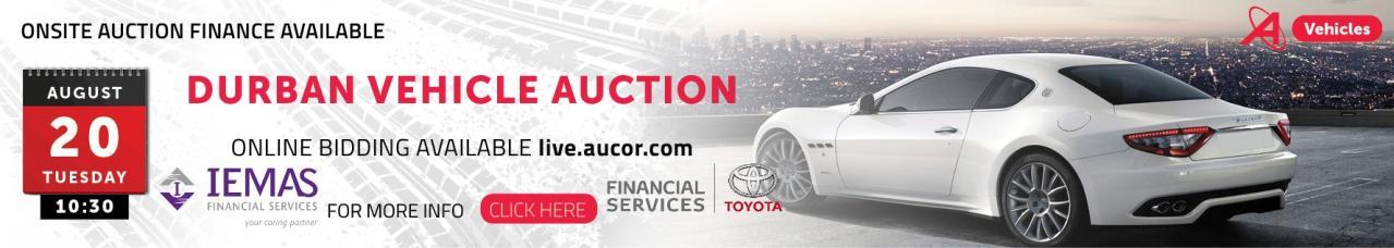 Durban Vehicle Auction - DBN