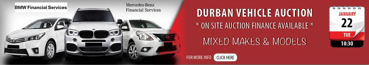 Durban Vehicle Auction - Jan 22