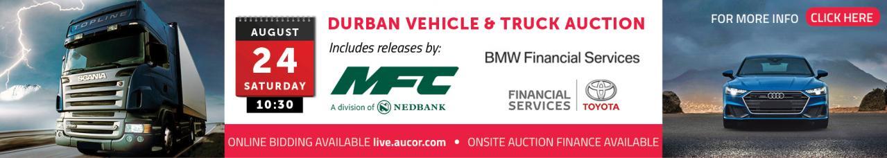 Durban Vehicle & Truck Auction - DBN
