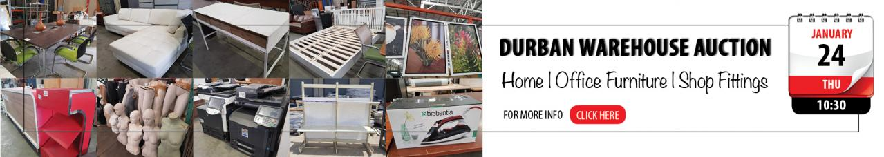 Durban Warehouse Home, Office Auction