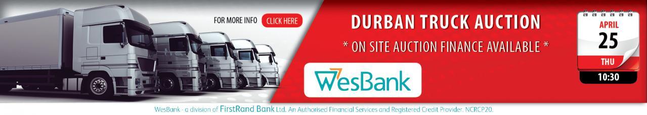 Durban Truck Auction