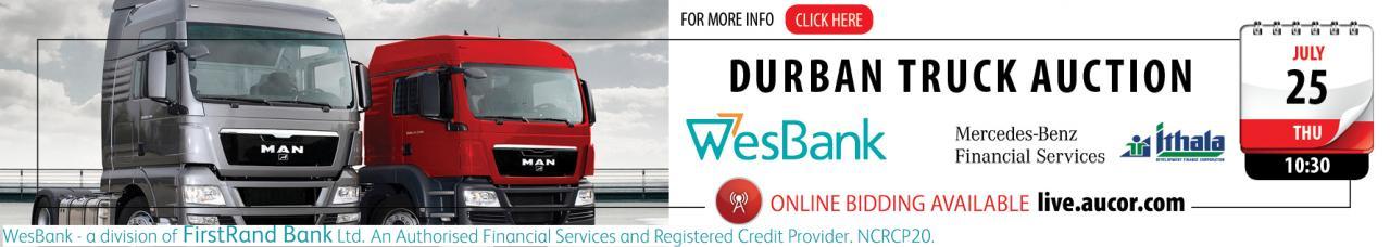 Durban Truck Auction - DBN