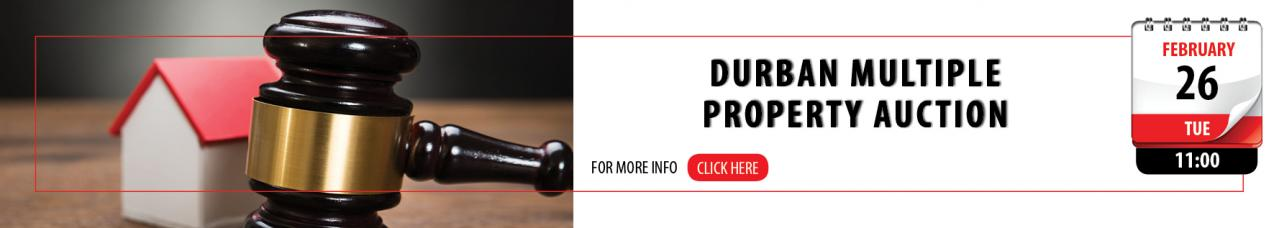 Durban Multiple Property Auction