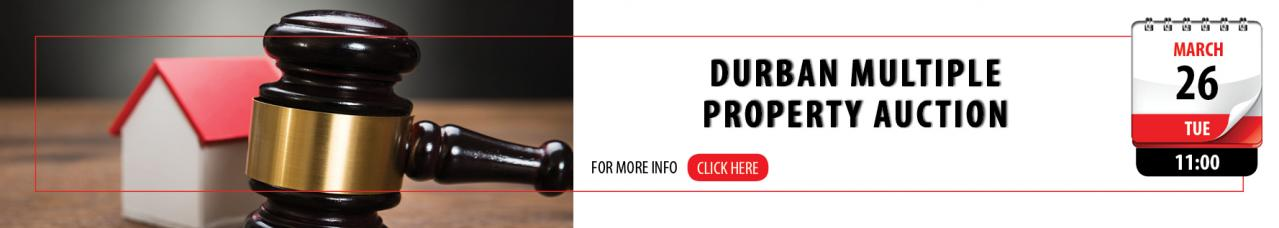 Durban Muliple Property Auction