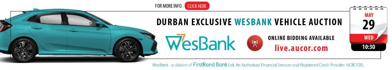 Durban wesbank Auction - DBN