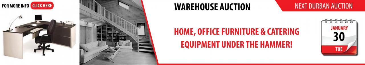 Durban Warehouse Auction 30 Jan