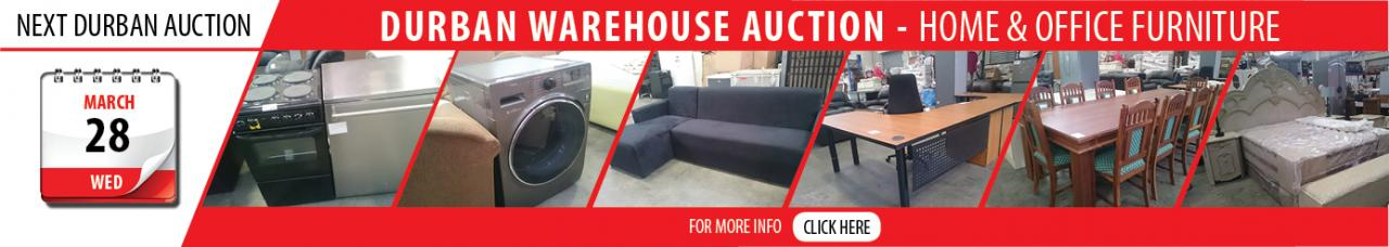 Durban Home & Office Furniture Auction - 28 March