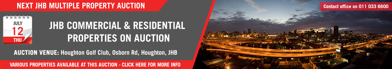 JHB Commercial & Residential Property Auction - 12 July