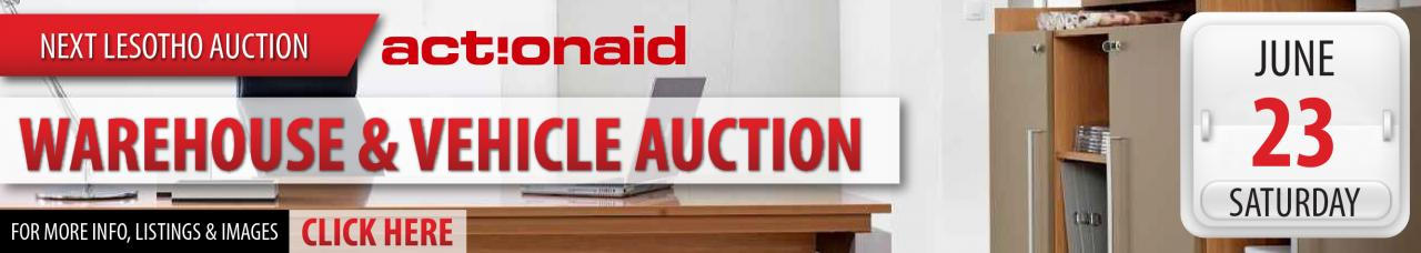 Lesotho Warehouse & Vehicle Auction - 23 June