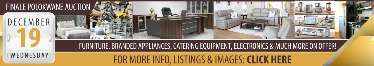 Polokwane Catering, Furniture & Appliance Warehouse Auction