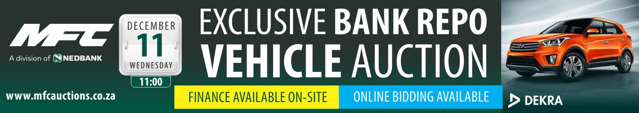 MFC Bank Repo Vehicle Auction - JHB