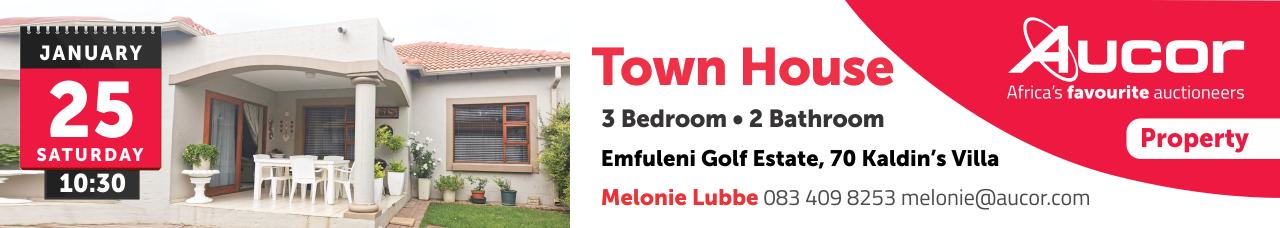 Emfuleni Golf Estate - Town House