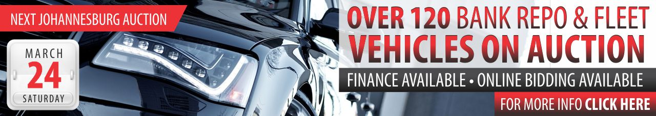 Bank Repo & Fleet Vehicle Auction - 24 March