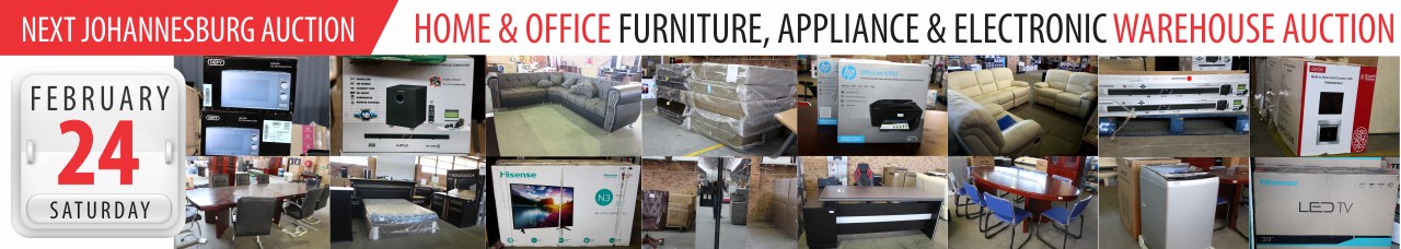 Home, Office, Electonic & Appliance Auction - 24 Feb