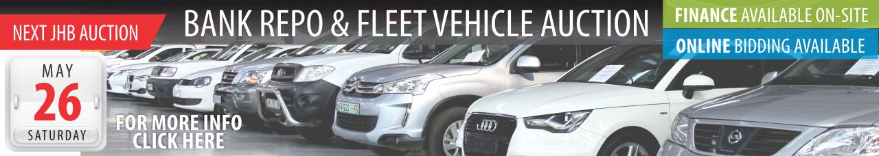Bank Repo & Fleet Vehicle Auction - JHB