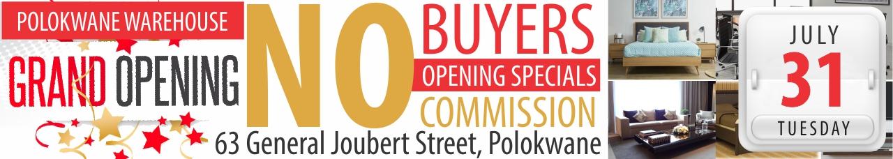 Polokwane Grand Opening Warehouse Auction
