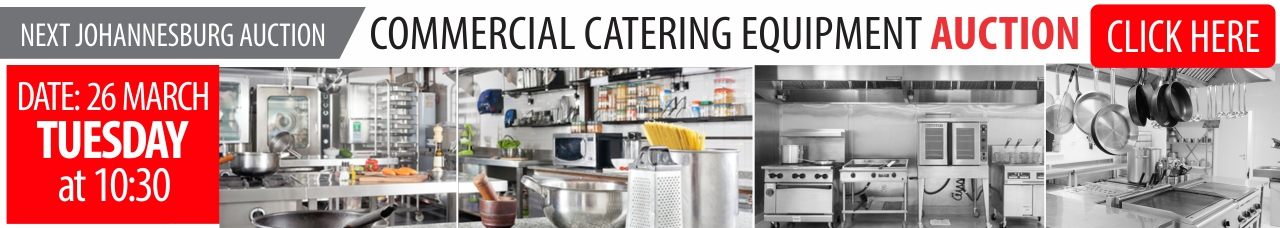Commercial Catering Equipment Auction - JHB